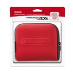 2DS Carrying Case - Black & Red