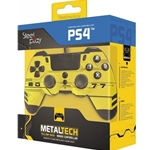 Steelplay MetalTech Wired Controller - Hack Yellow (PS4/Multi)