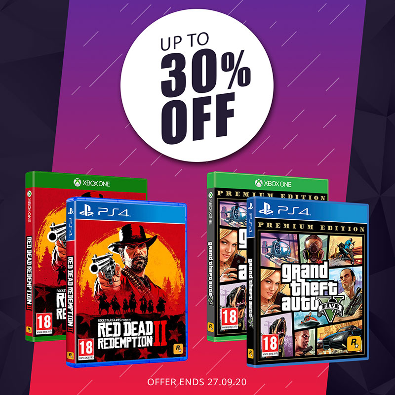 GTA V and Red Dead Redemption Special Offer